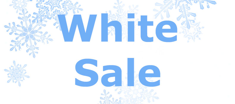 White Sale promotional image